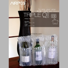 AIRPCS Q Wine Bag for 3 Bottles
